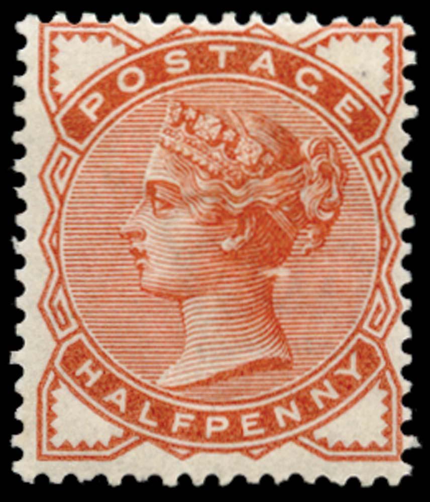 GB 1884  SG187var Mint