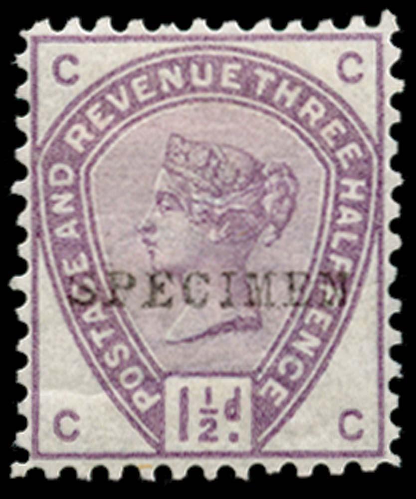 GB 1884  SG188var Specimen