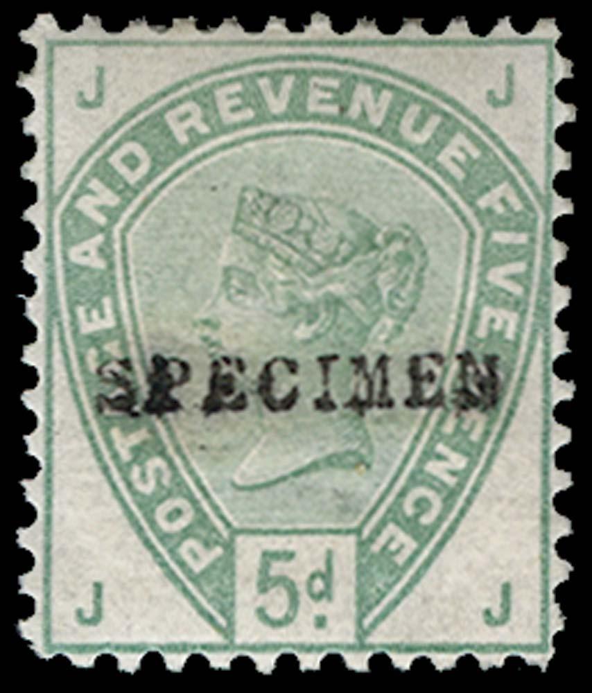 GB 1884  SG193var Specimen