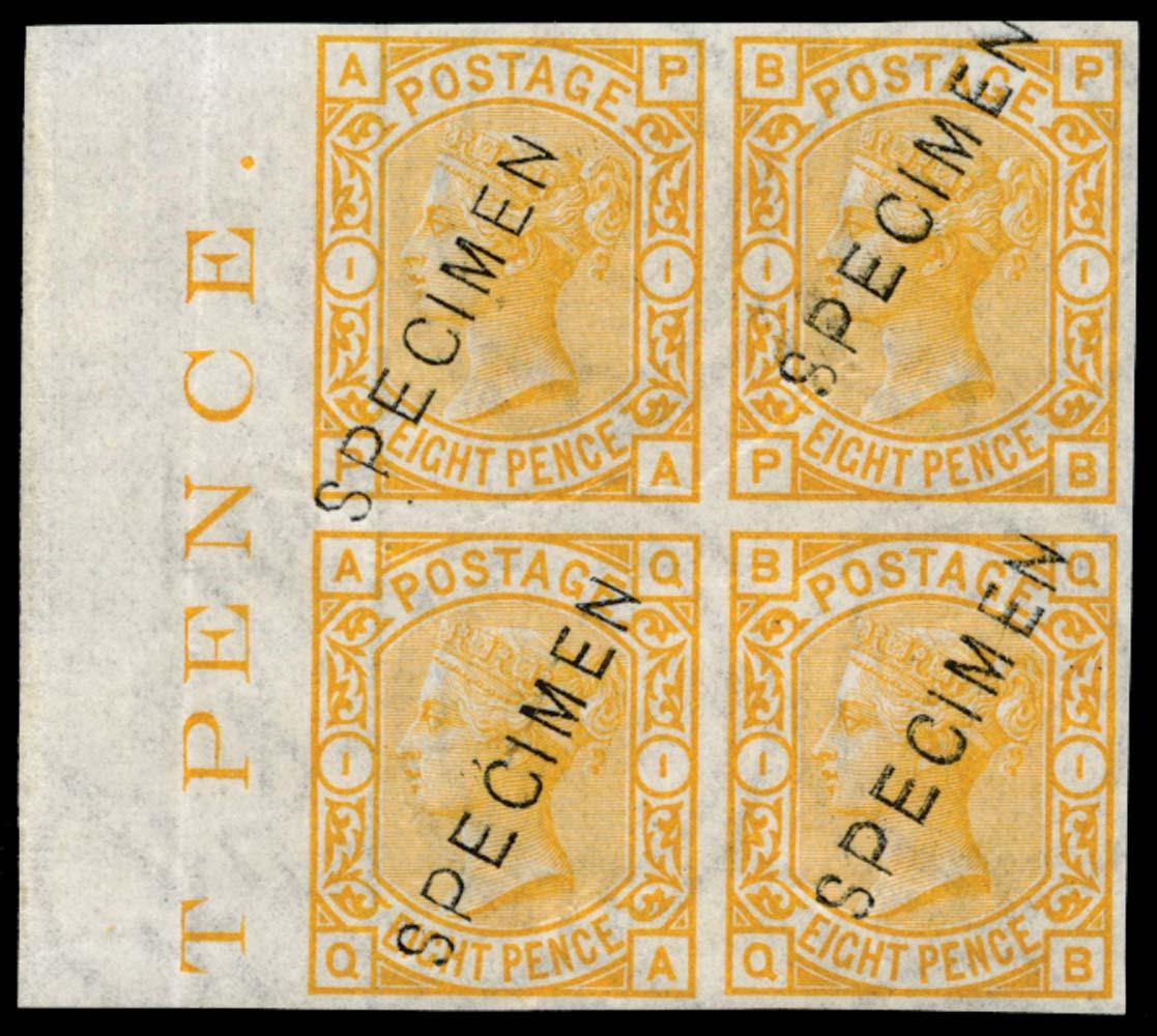 GB 1876  SG156var Specimen