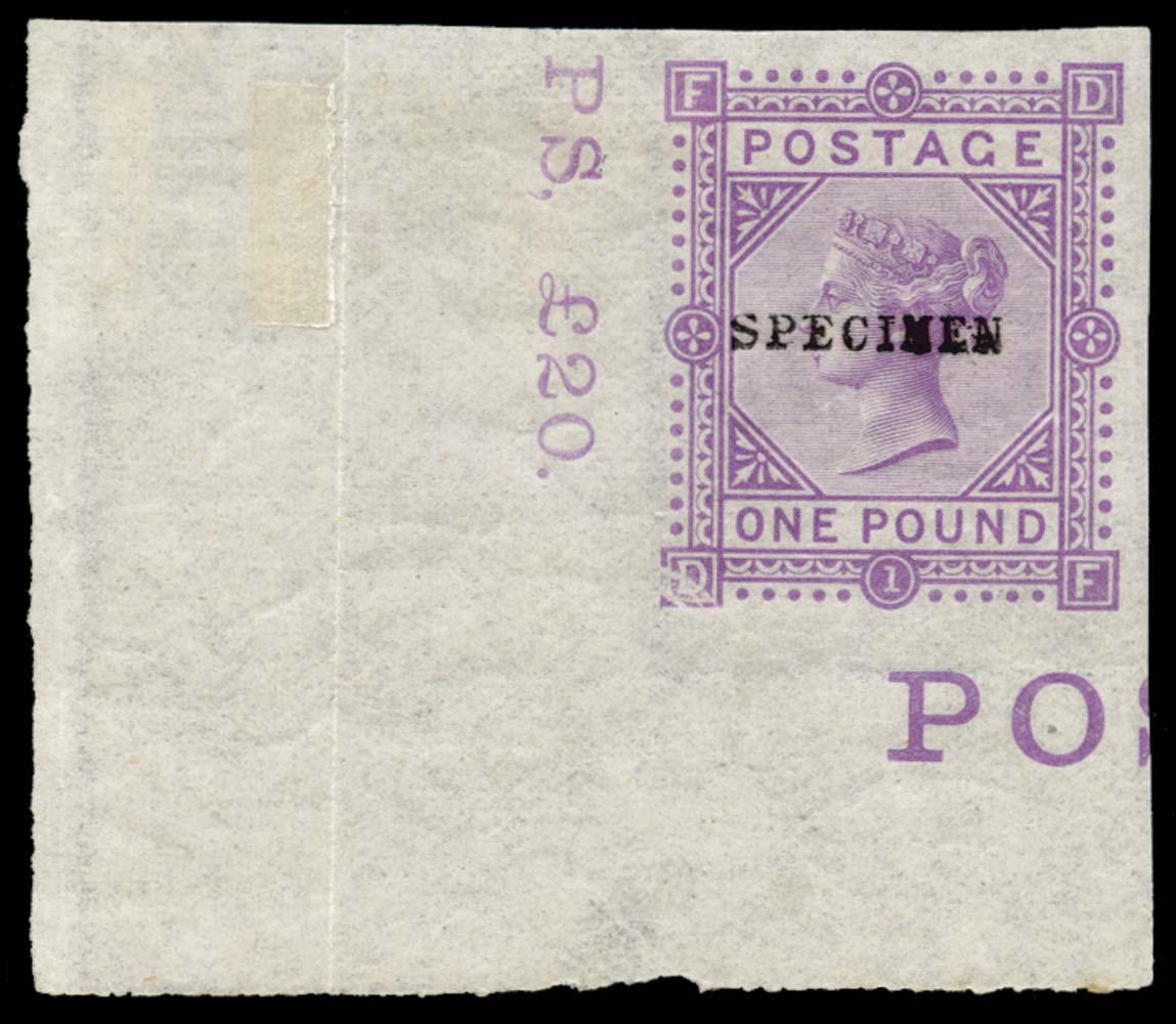 GB 1878  SG129var Essay