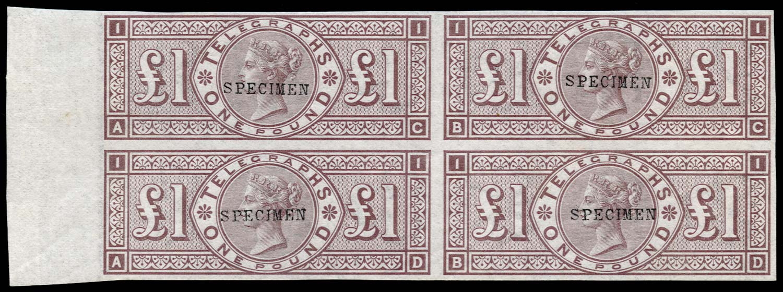 GB 1877  SGT17var Telegraph