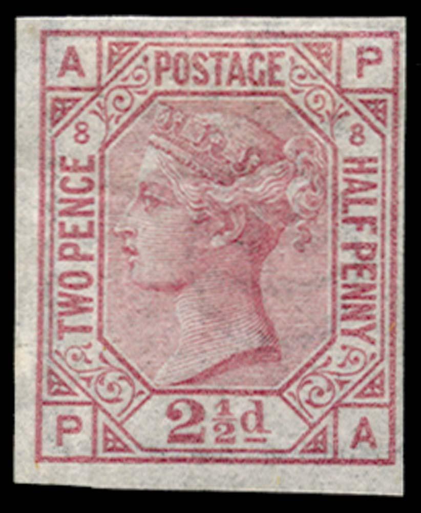GB 1875  SG141var Pl.8 Mint