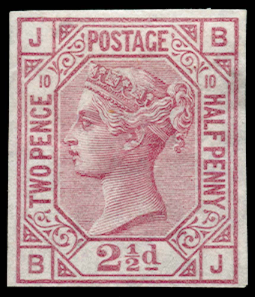 GB 1875  SG141var Pl.10 Mint
