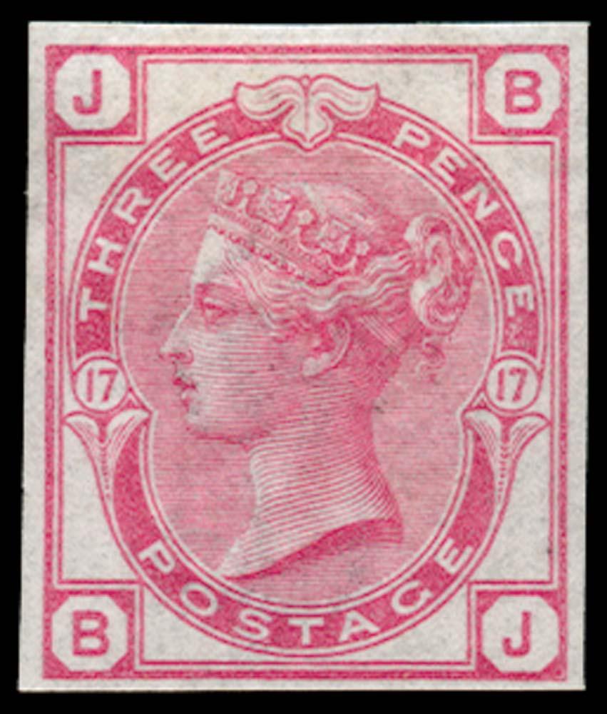 GB 1873  SG143var Pl.17 Mint