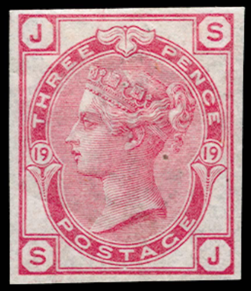 GB 1873  SG143var Pl.19 Mint