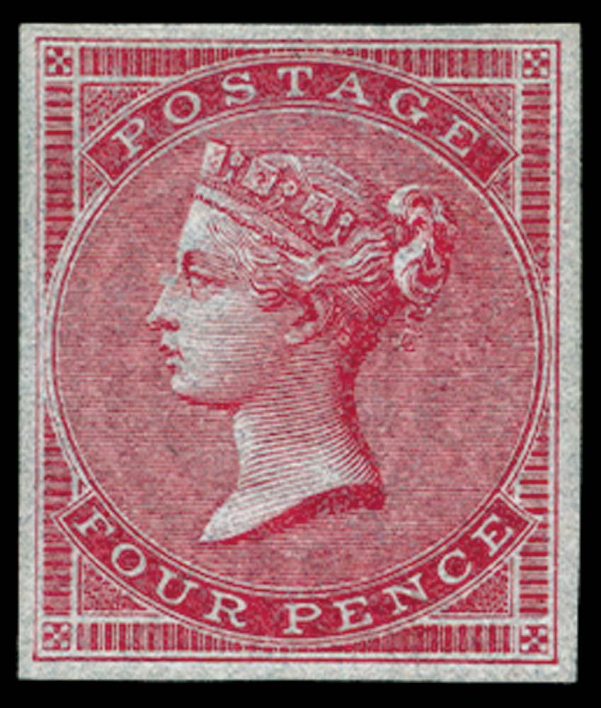 GB 1855  SG62var Mint