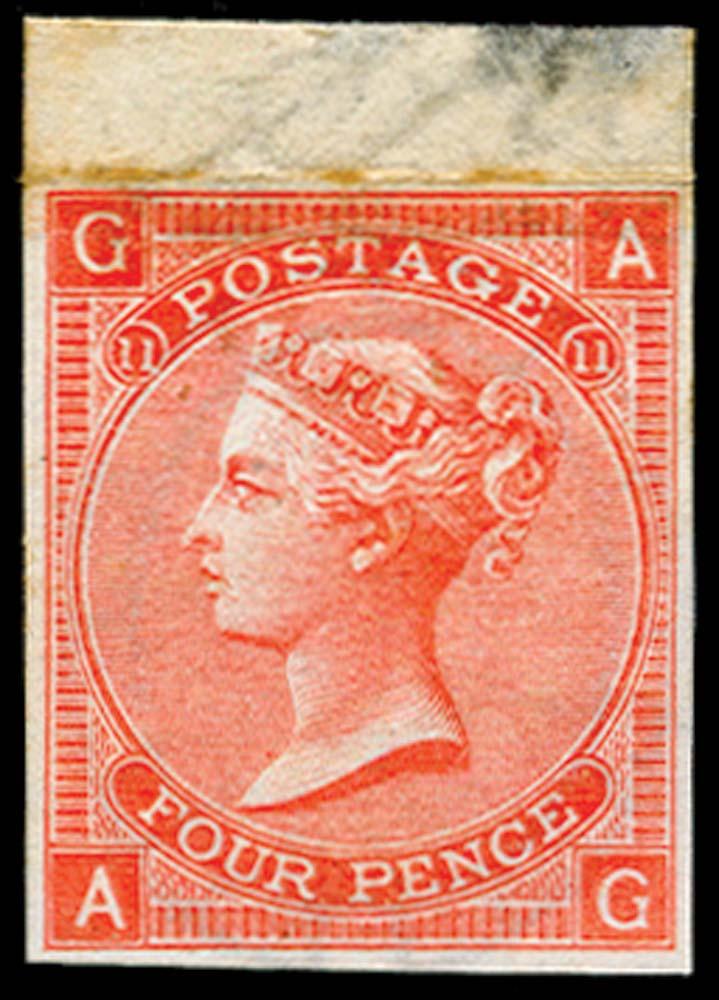 GB 1865  SG94var Pl.11 Mint