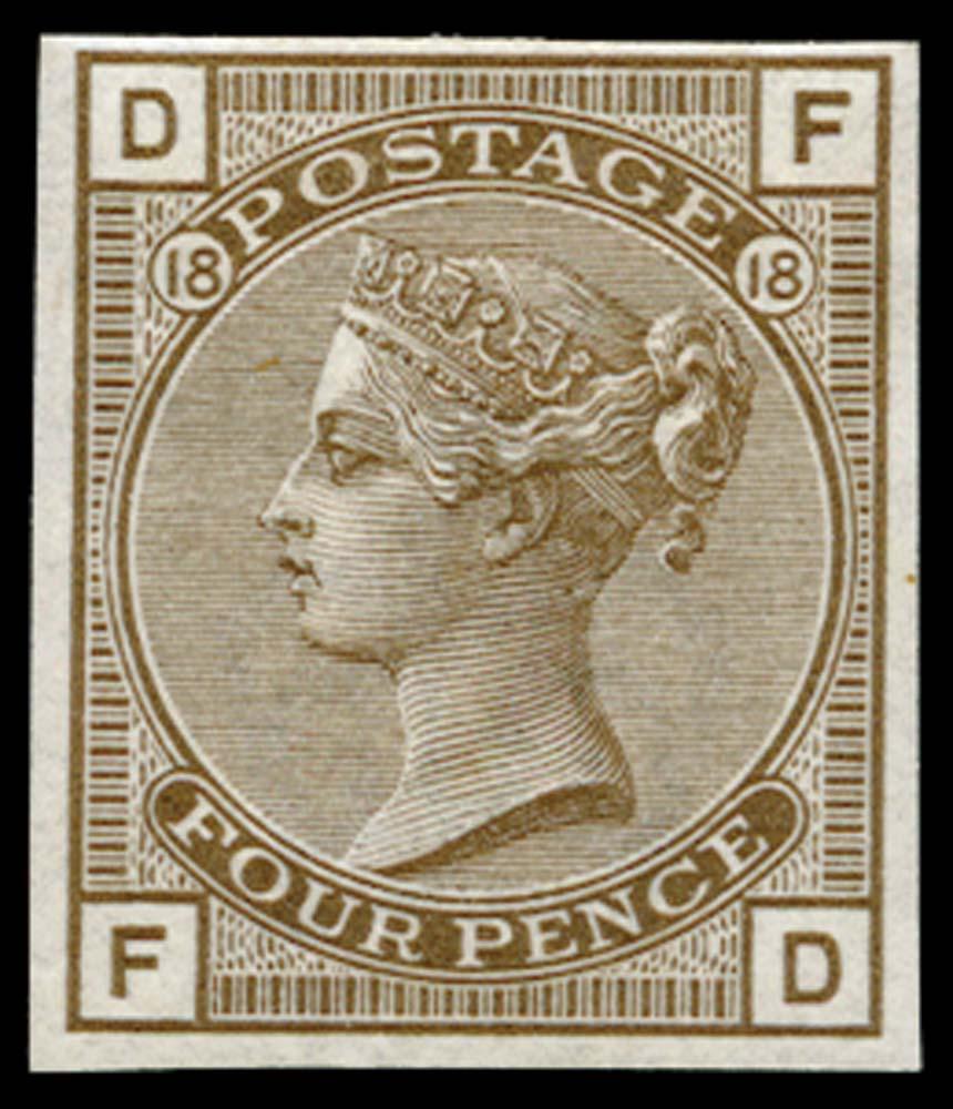 GB 1882  SG160var Pl.18 Mint