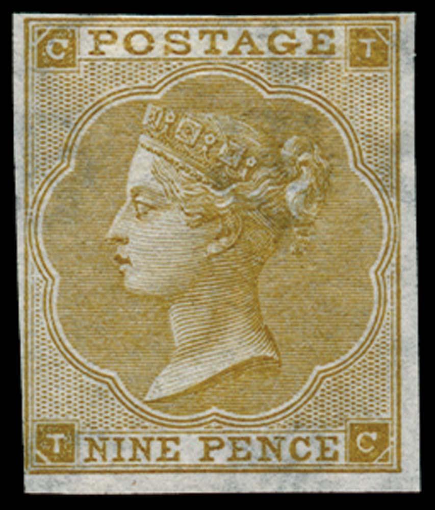 GB 1862  SG88var Pl.3 Mint