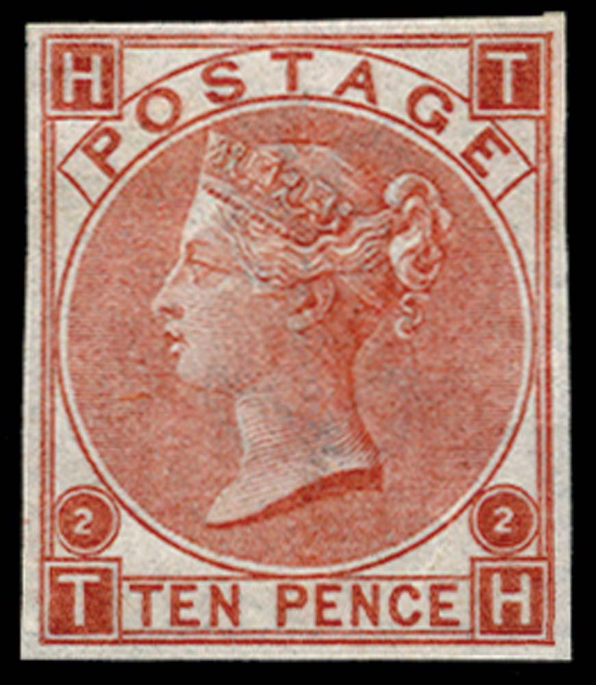 GB 1867  SG113var Pl.2 Mint