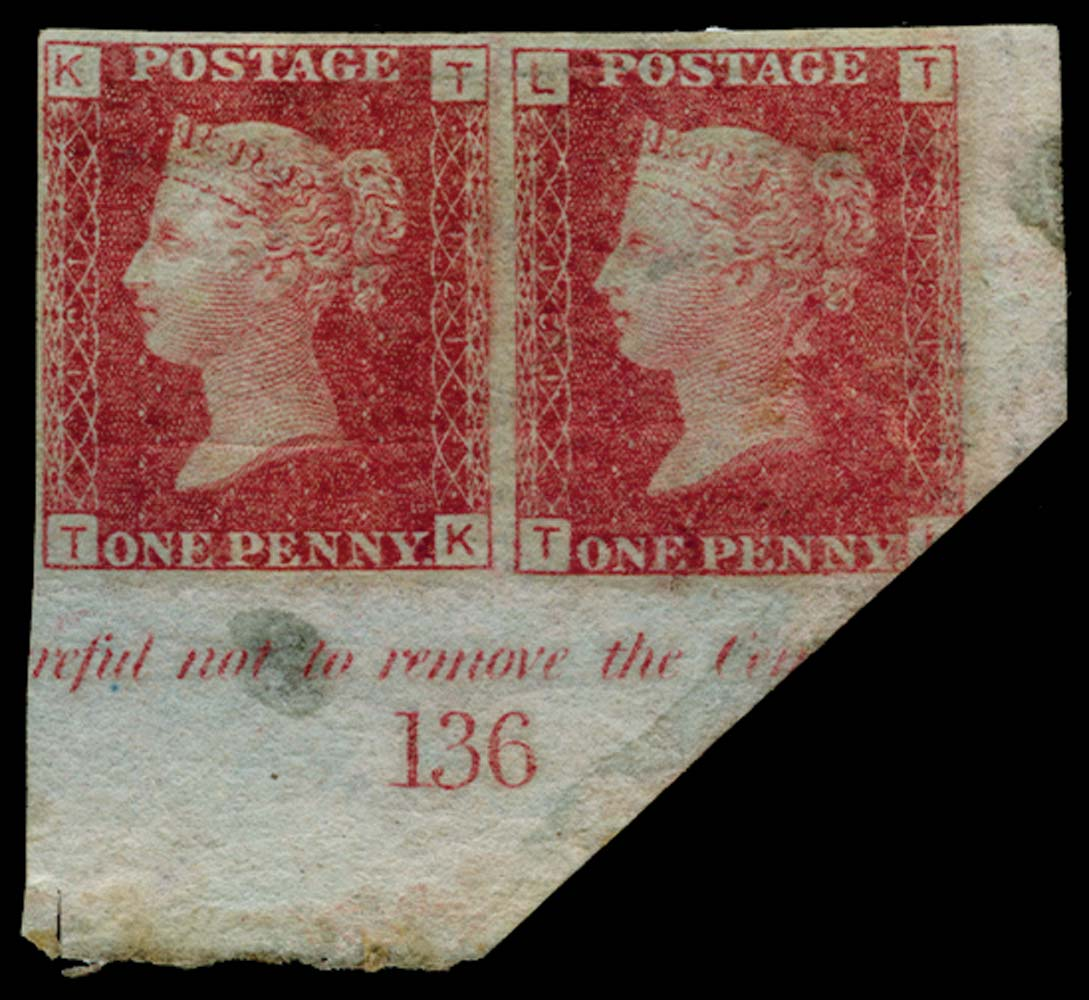 GB 1864  SG43var Pl.121 Mint