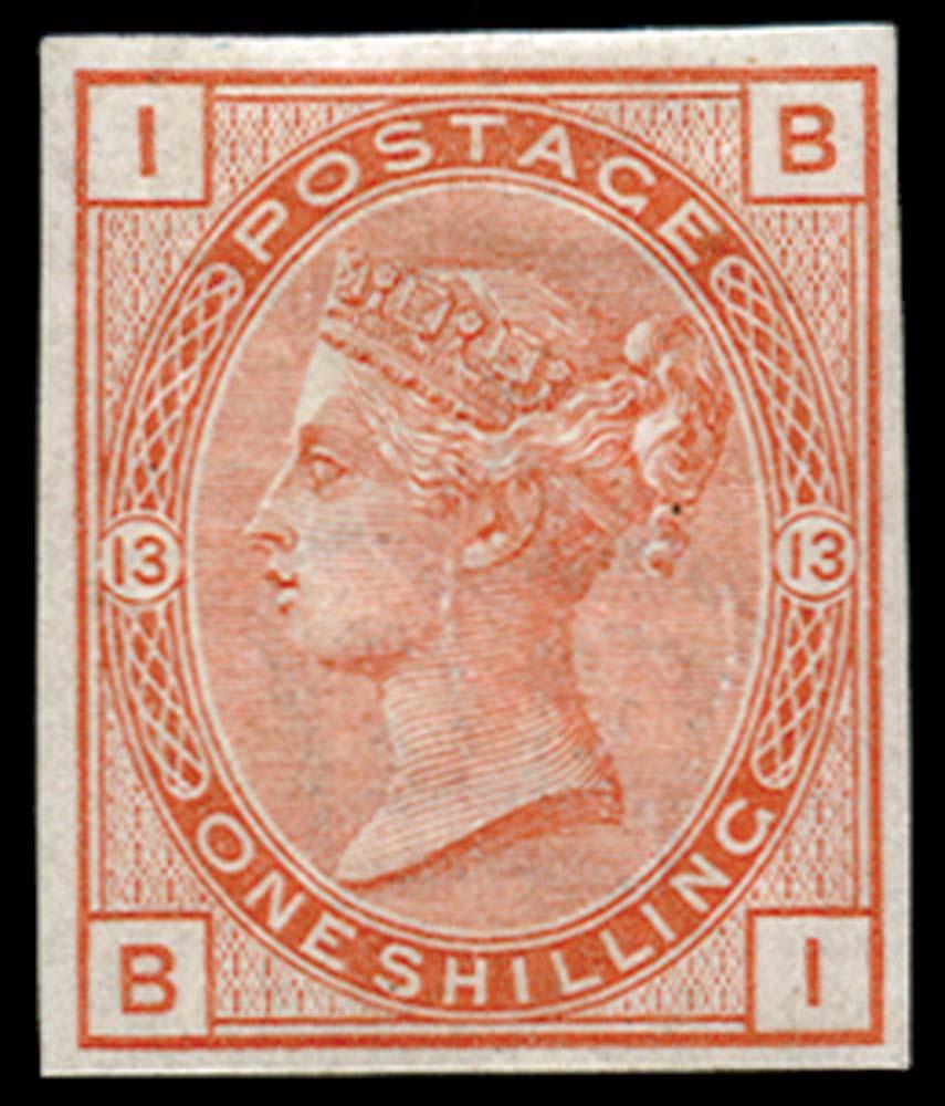 GB 1881  SG163var Pl.13 Mint