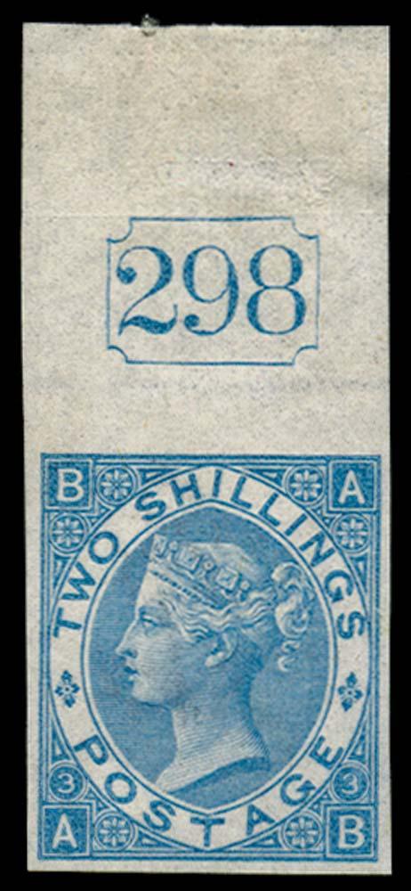 GB 1867  SG118var Pl.3 Mint