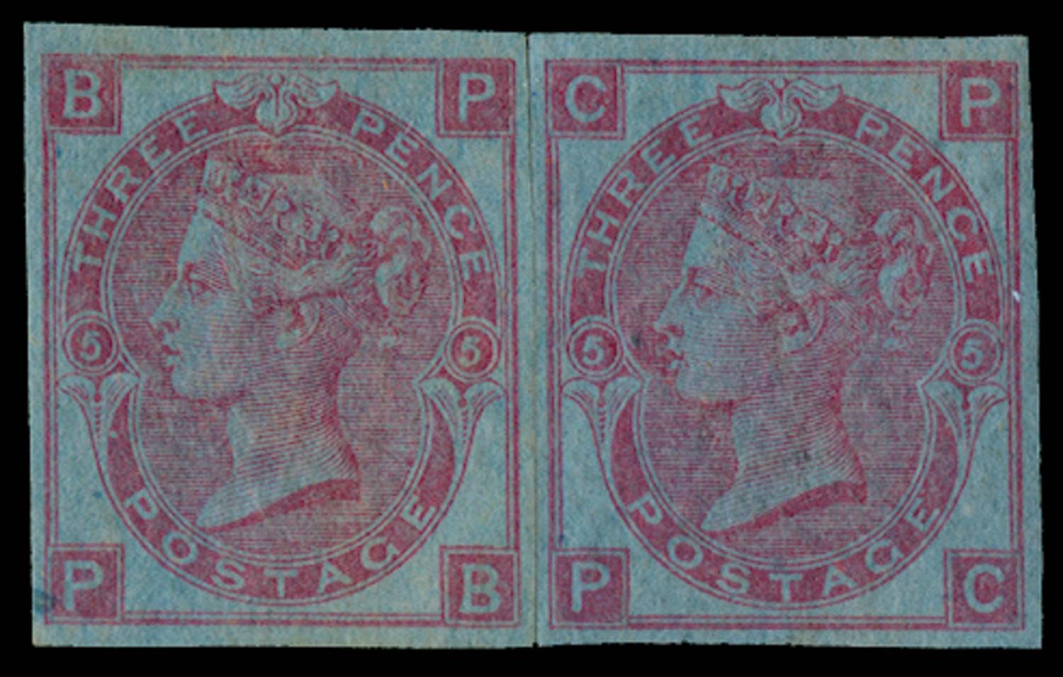 GB 1868  SG103var Pl.5 Mint
