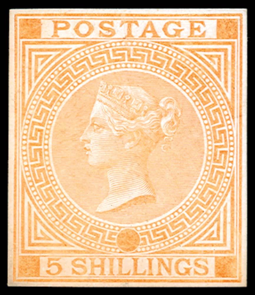 GB 1867  SG126var Mint