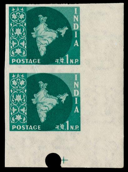 INDIA 1958  SG399a Mint