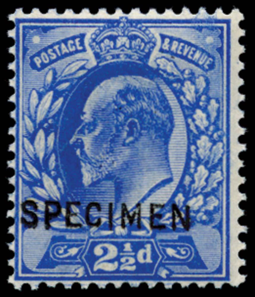GB 1902  SG230s Specimen