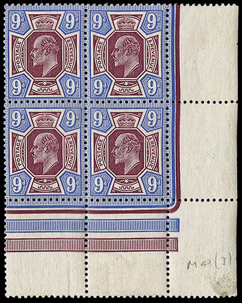 GB 1911  SG307 Mint