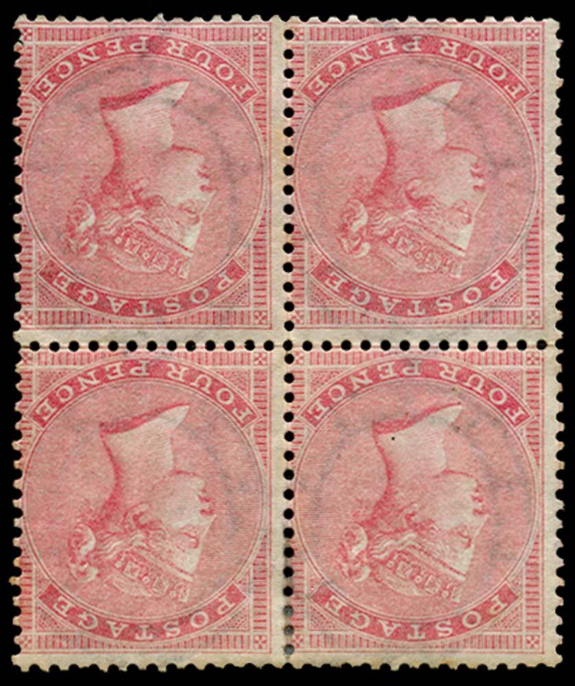 GB 1856  SG64wi Mint