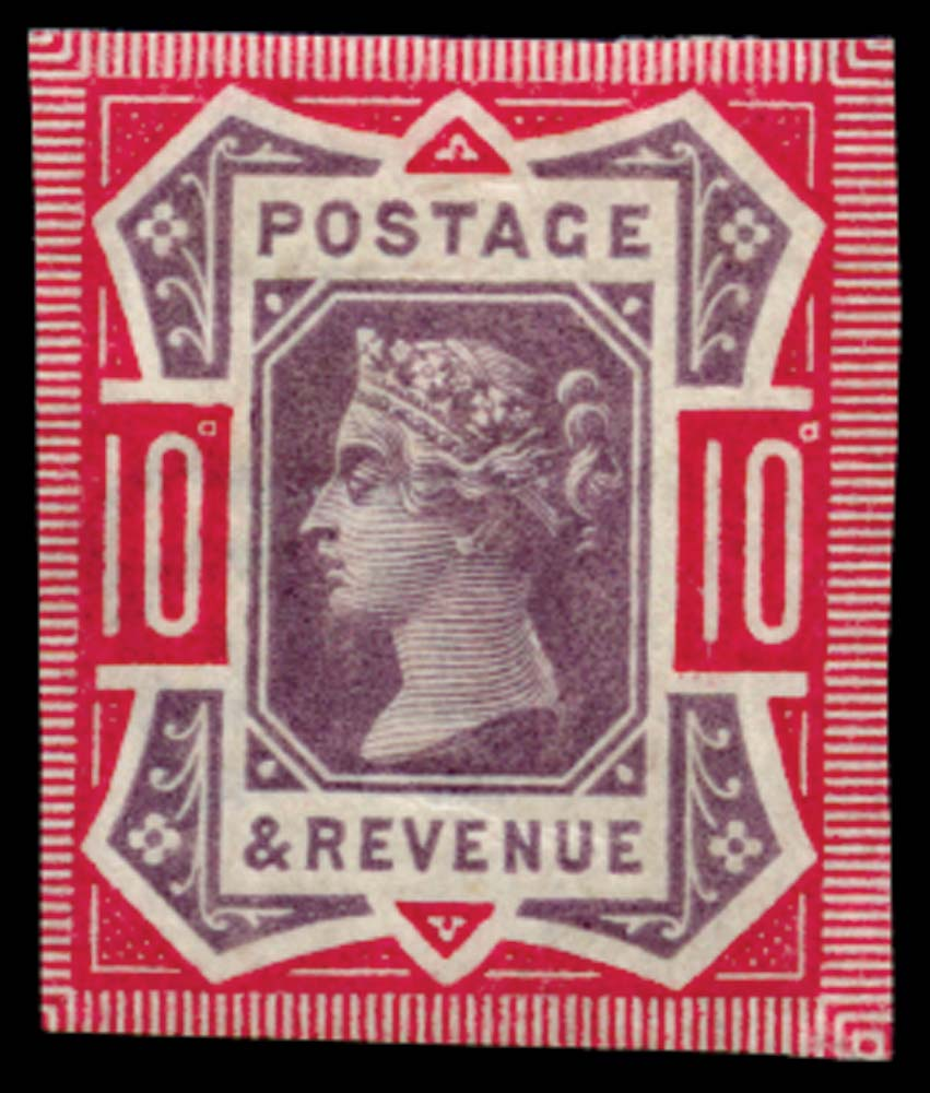GB 1890  SG210var Mint