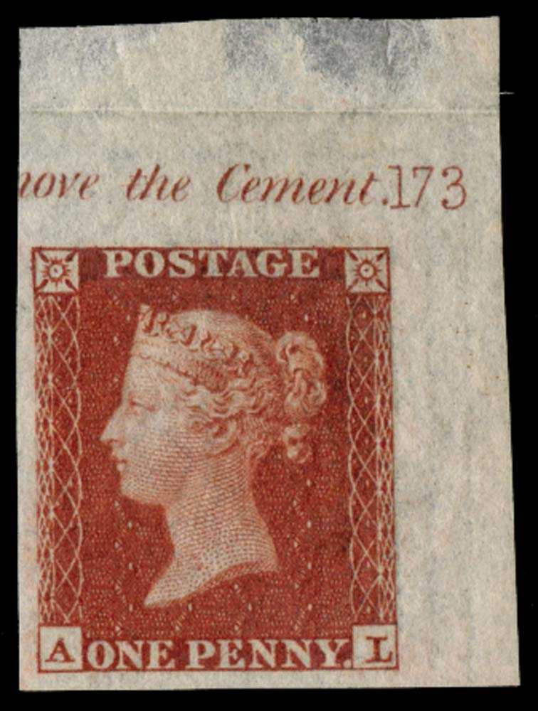 GB 1841  SG8var Pl.173 Mint