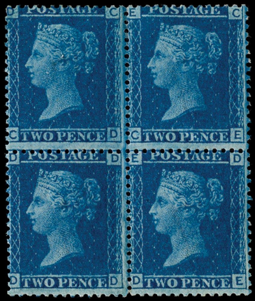 GB 1858  SG45 Pl.12 Mint