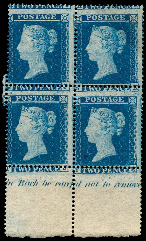 GB 1854  SG19 Pl.4 Mint