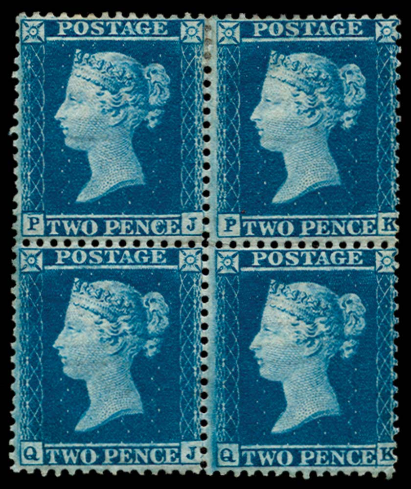 GB 1855  SG34 Pl.5 Mint