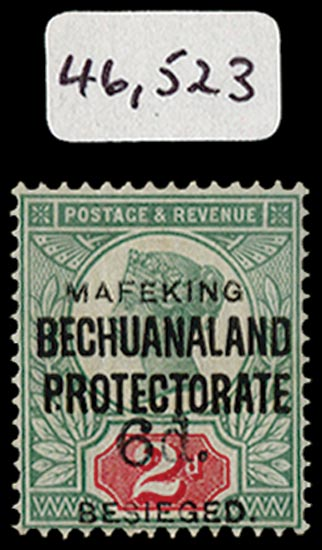 C.G.H. - MAFEKING 1900  SG13 Mint
