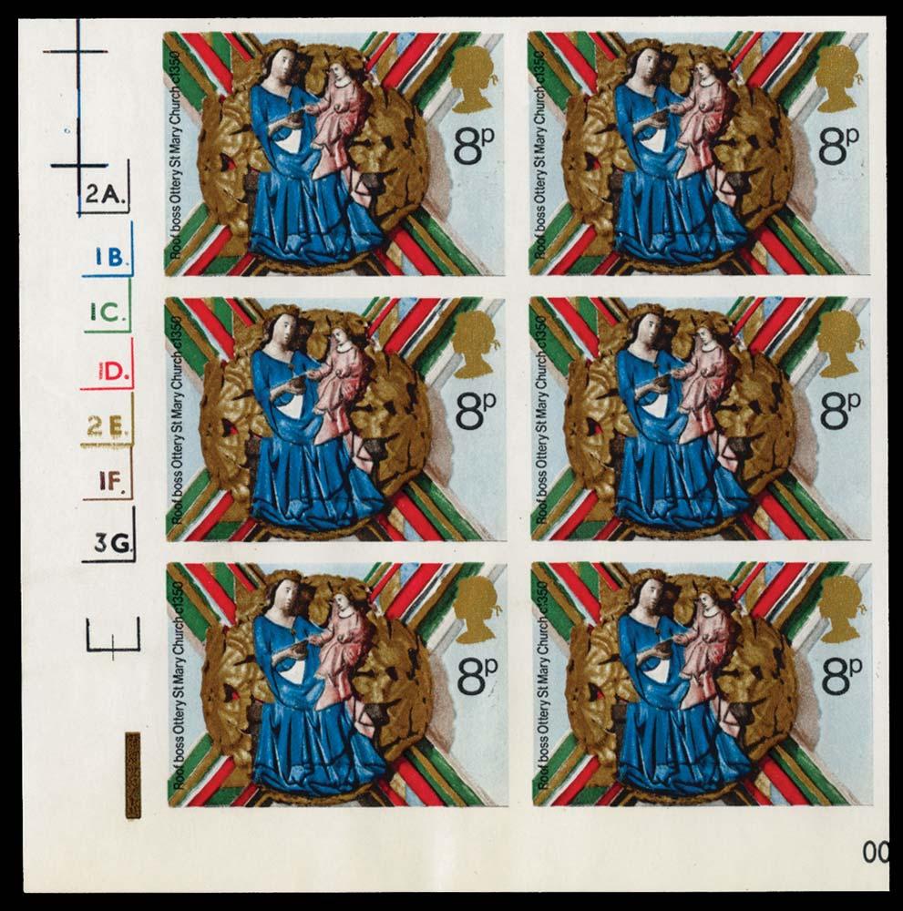 GB 1974  SG968var Mint