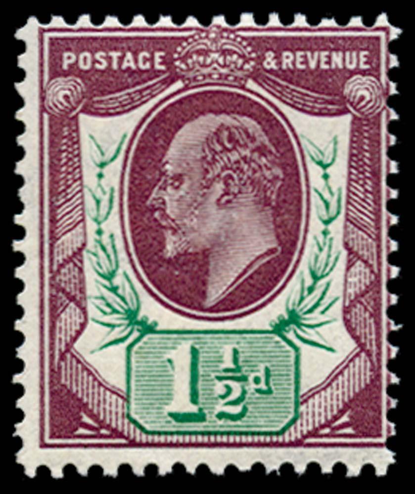 GB 1911  SG288 Mint