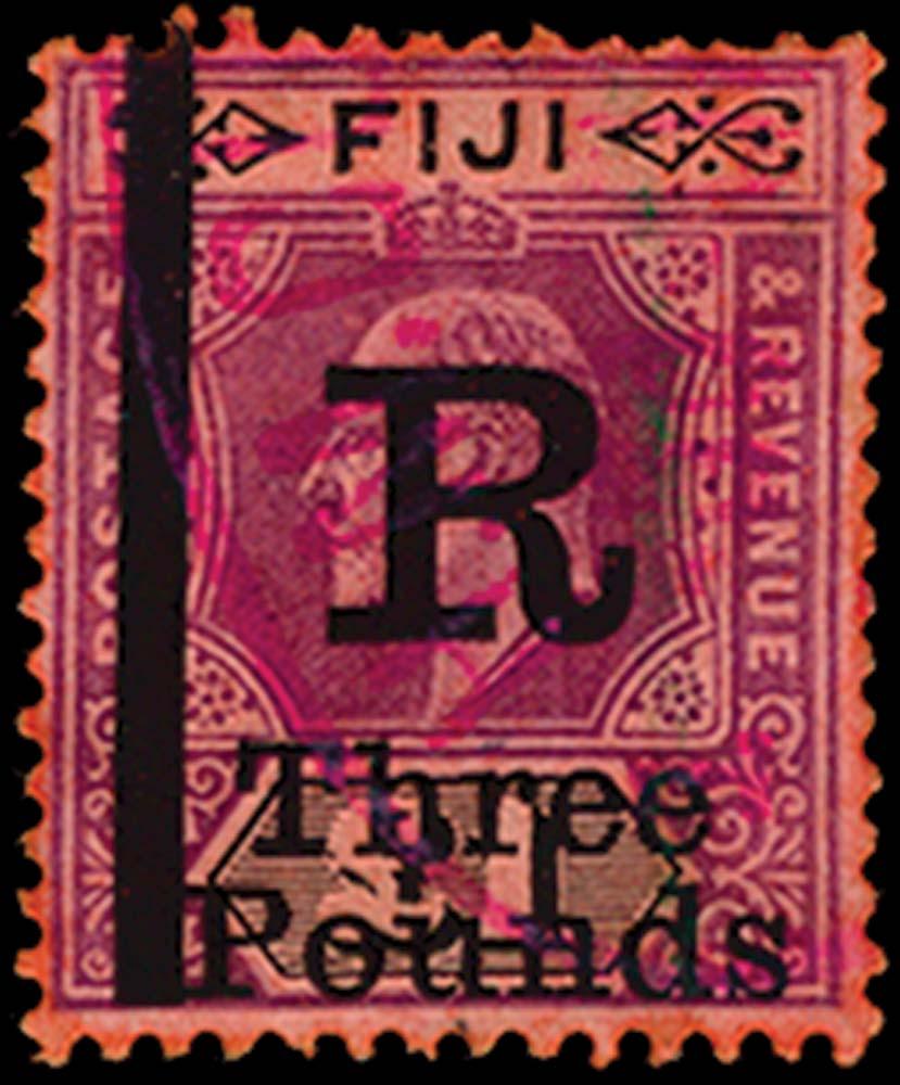 FIJI 1912  SG. Revenue