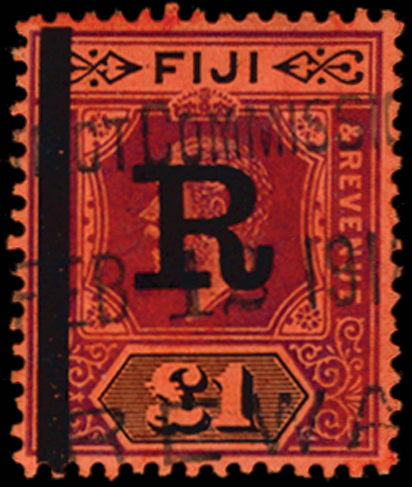 FIJI 1914  SG. Revenue