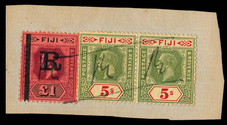 FIJI 1923  SG. Revenue