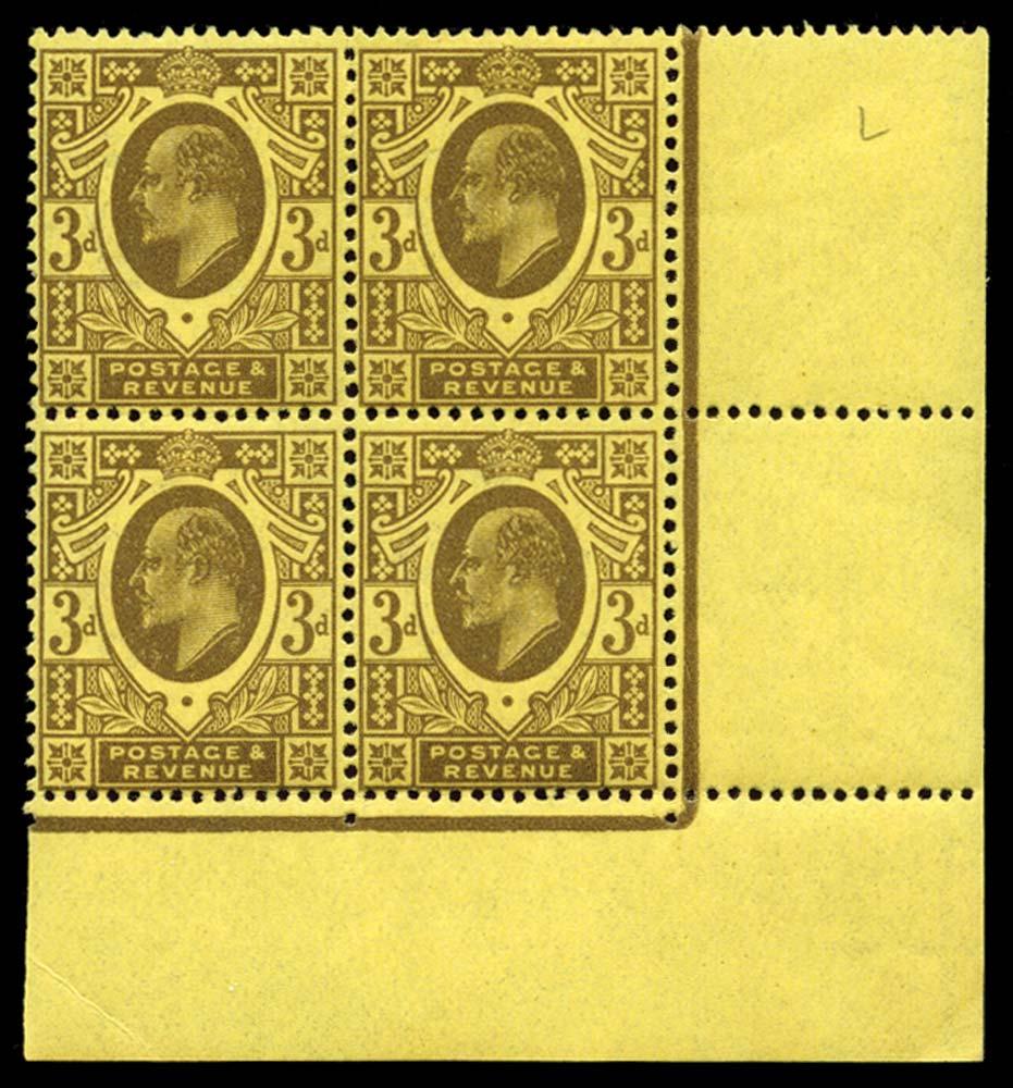 GB 1911  SG285var Mint