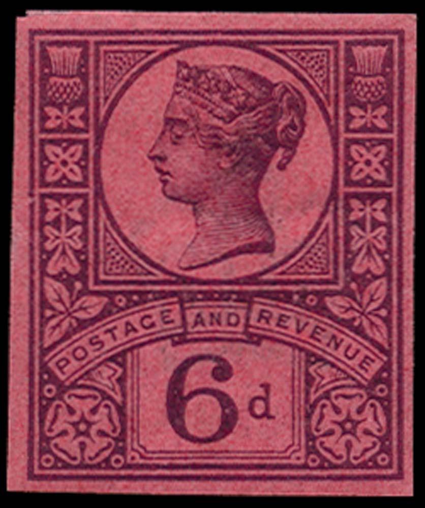 GB 1887  SG208var Mint