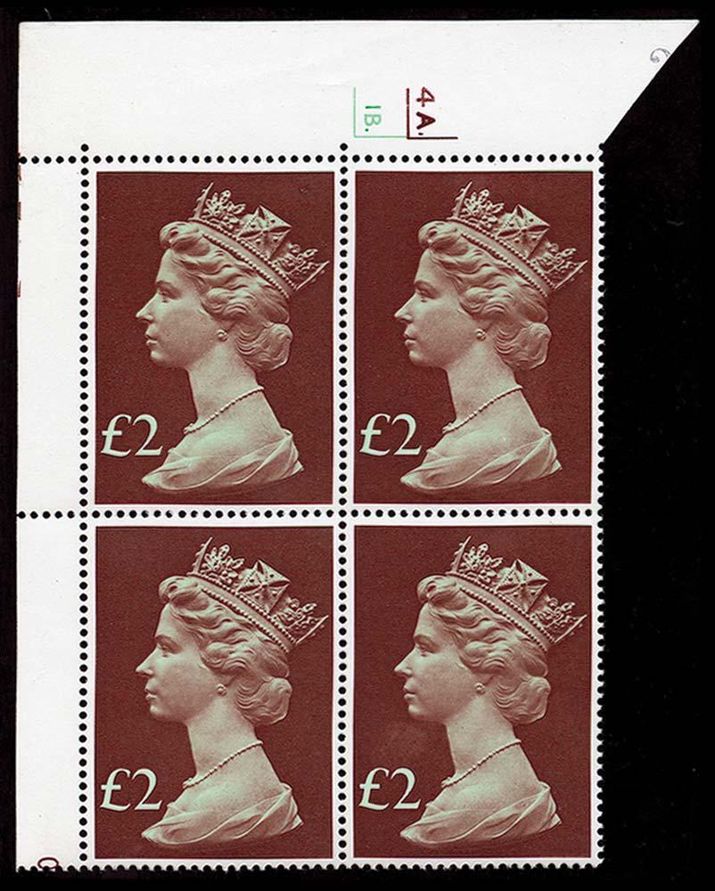 GB 1977  SG1027 Mint