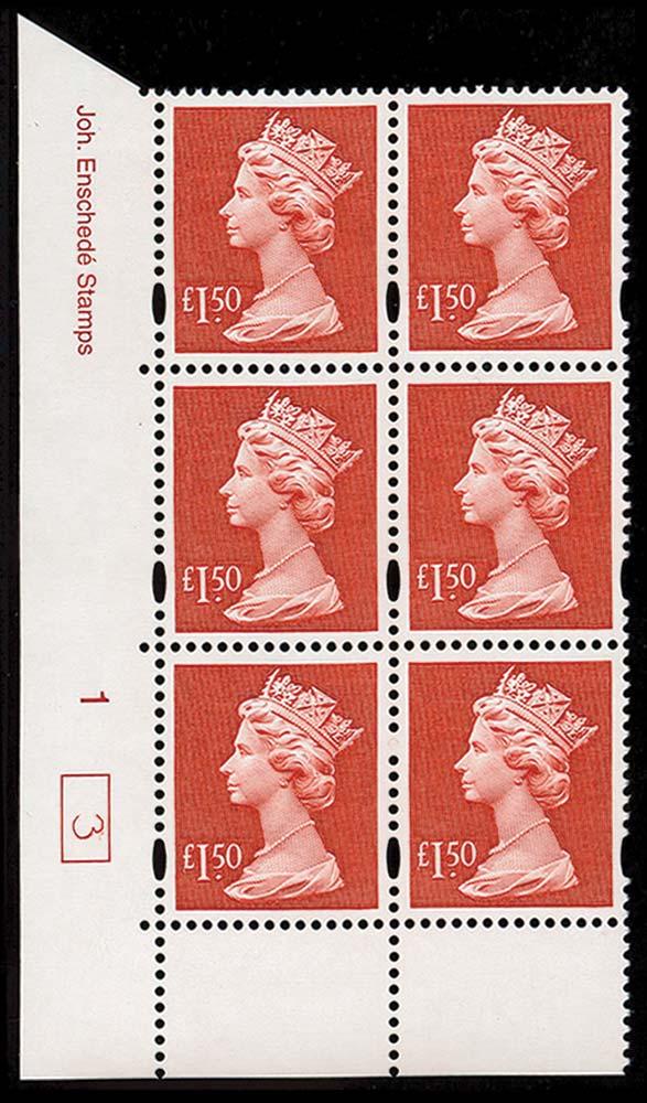 GB 1999  SGY1800 Mint
