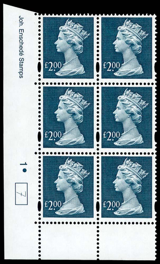 GB 1999  SGY1801 Mint