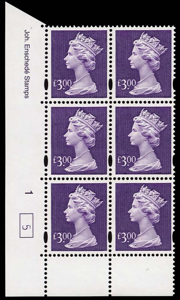 GB 1999  SGY1802 Mint