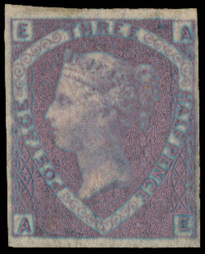 GB 1860  SG53a var Mint