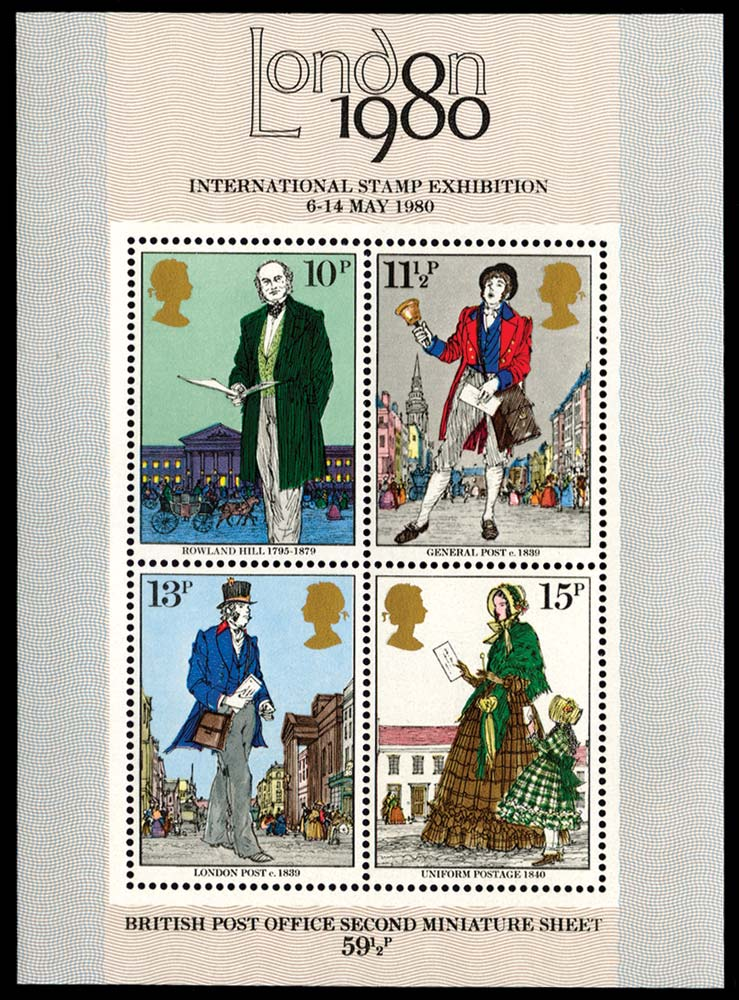 GB 1979  SGMS1099b Mint brown-ochre omitted