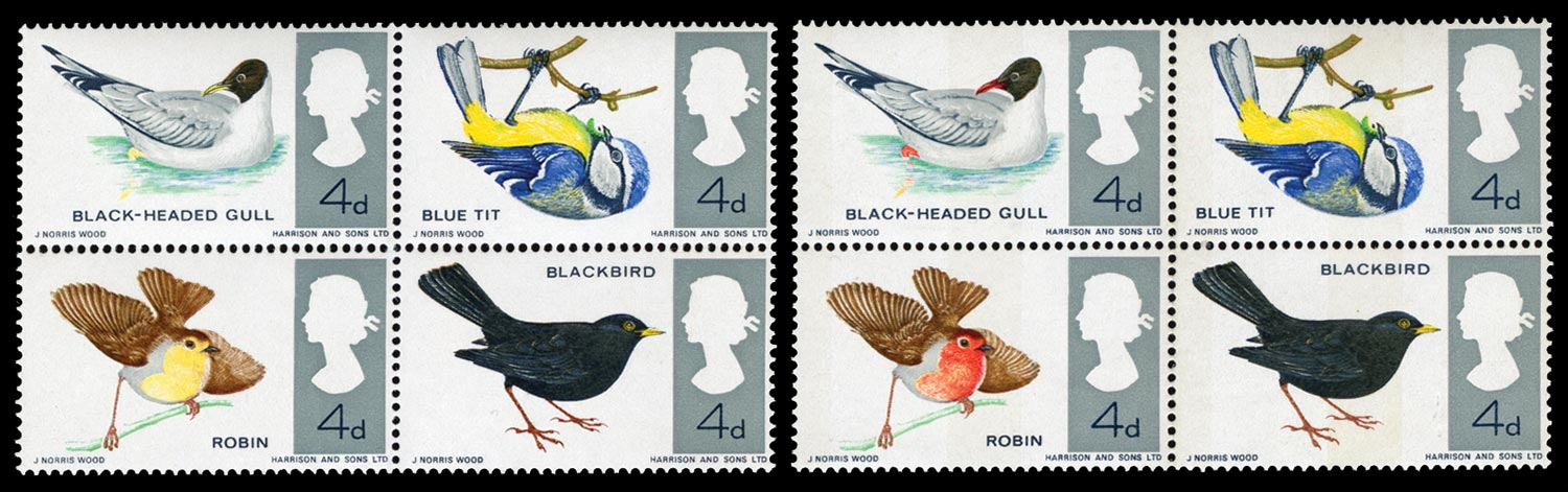 GB 1966  SG696ae Mint red omitted