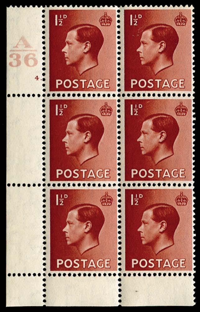 GB 1936  SG459 Mint