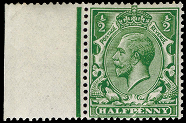 GB 1912  SG351var Mint