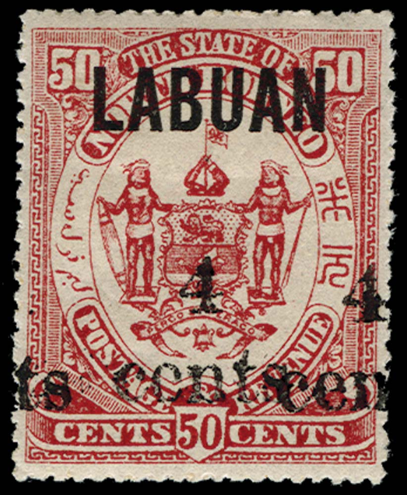 LABUAN 1904  SG136a Mint