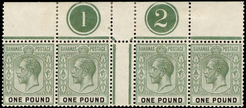 BAHAMAS 1912  SG89 Mint