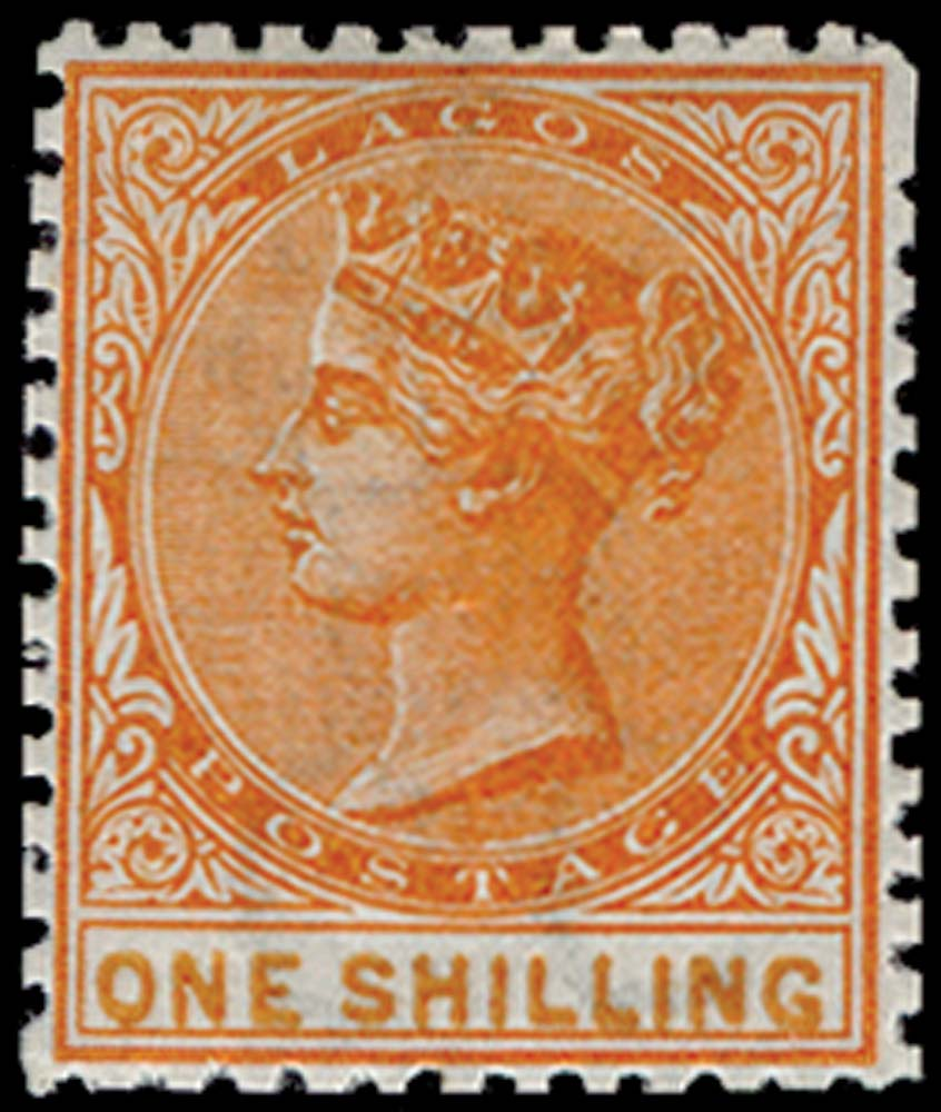 LAGOS 1874  SG8a Mint