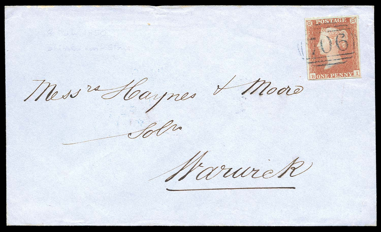 GB 1841  SG8p Pl.88 Cover